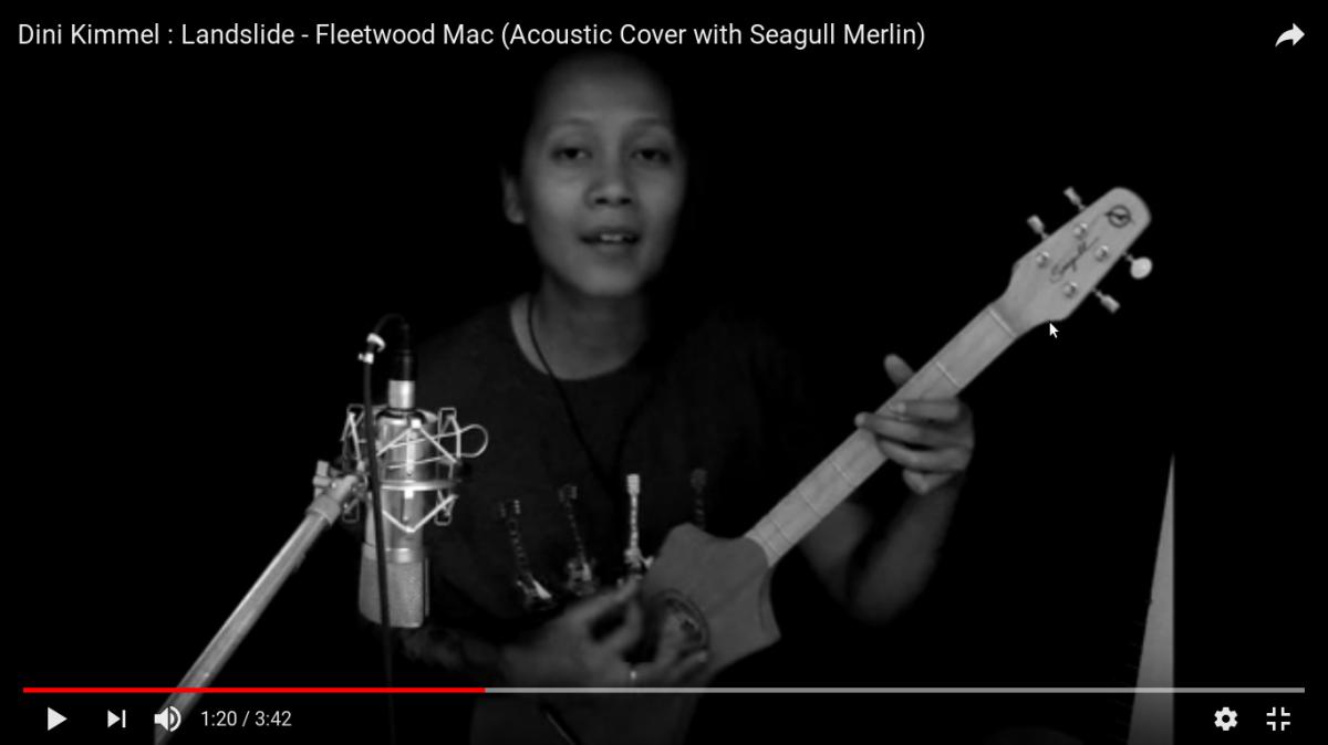 Inspiration Dini Kimmels Cover Landslide Fleetwood Mac The Wiz