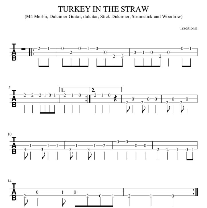 Turkey-in-the-straw
